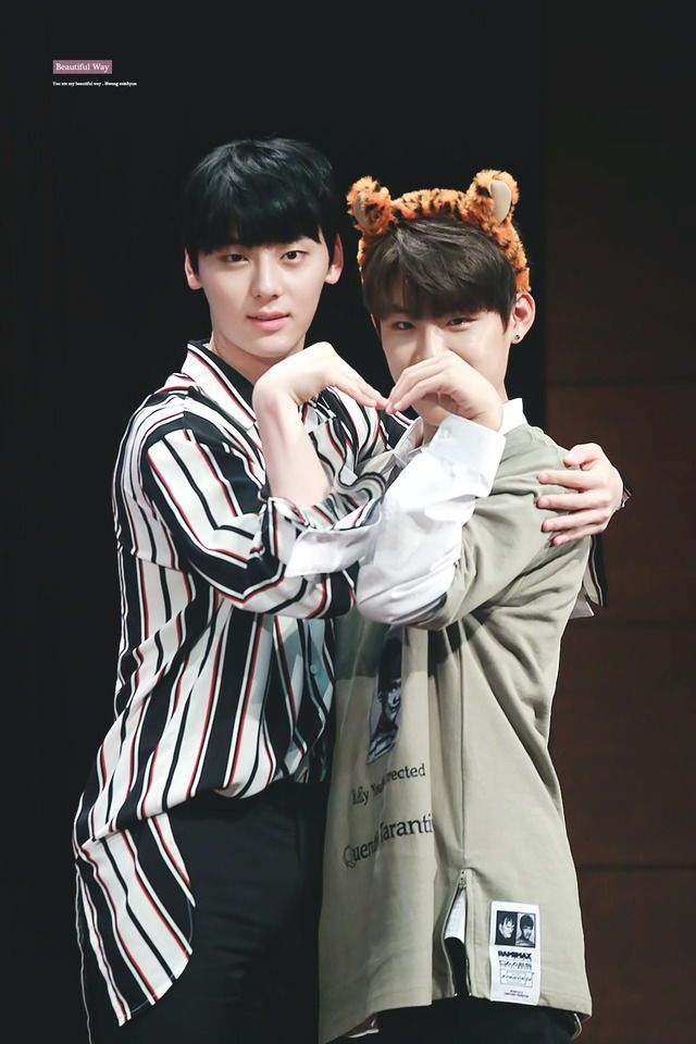 WANNA ONE | hwang minhyun, park woojin