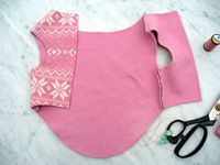 Easy Dog Fleece Jackets - How to Make a Dog Fleece Jacket