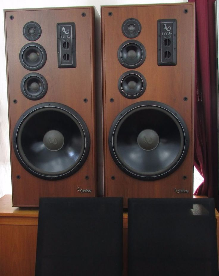 infinity tower speakers. i think you could really blow out your ears with these! cool, huh? woofer speakertower infinity tower speakers