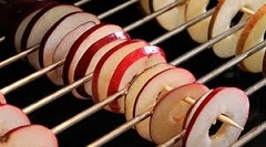 Appels drogen in de oven / drying apples / trucco per essiccare le mele