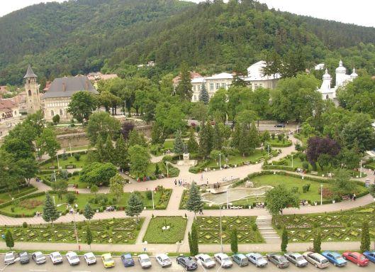 Piatra Neamt Romania people park romanian cities landscapes beautiful europe landscape