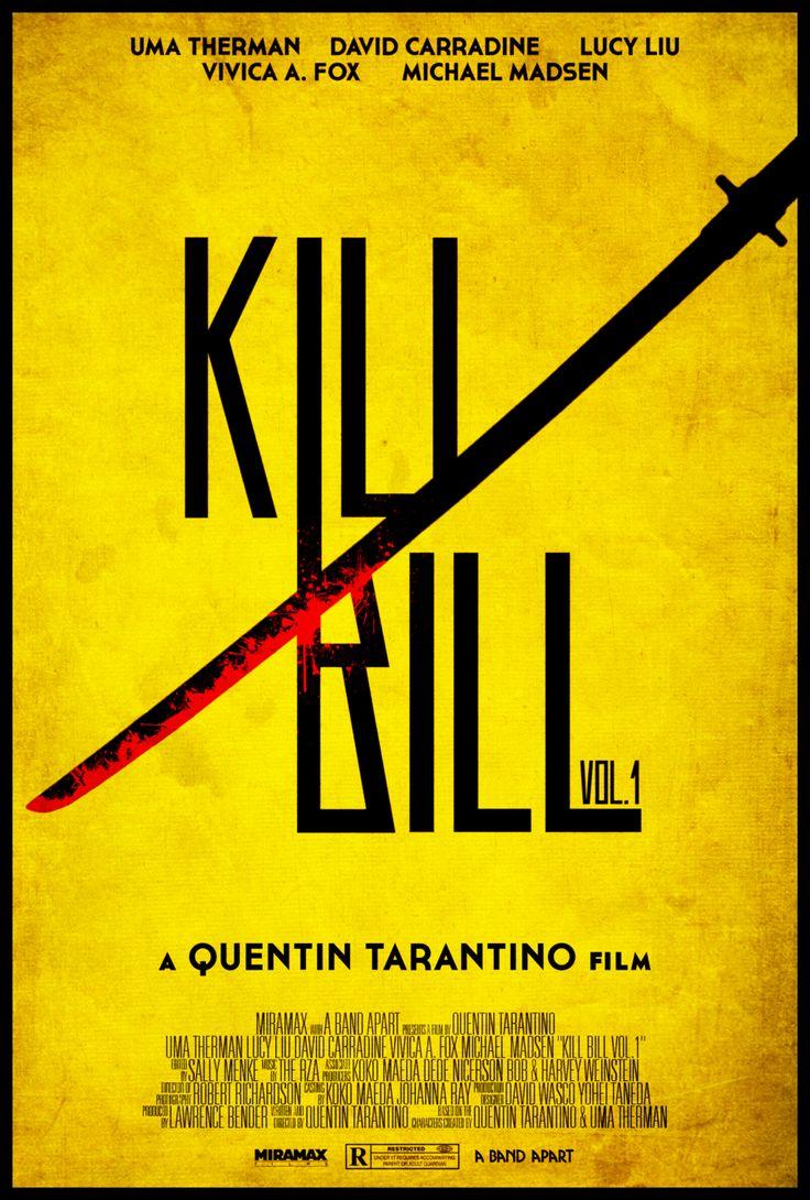 Kill Bill Vol. 1 - Alt. Movie Poster Edwin Julian Moran II