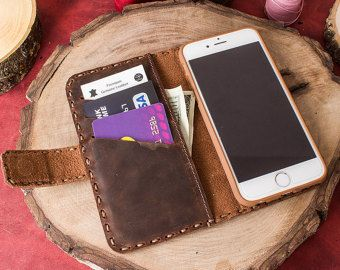 iPhone 7 Plus Leather Case iPhone 7 Plus iPhone 7 Plus Case by saracleather | Etsy