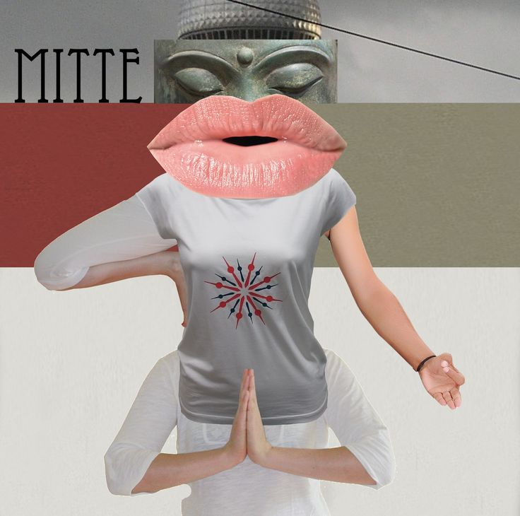 our #dadamoment DADA FASHION COLLAGE from s.wert, inspired by Hannah Höch, Berlin, Mitte and Yoga
