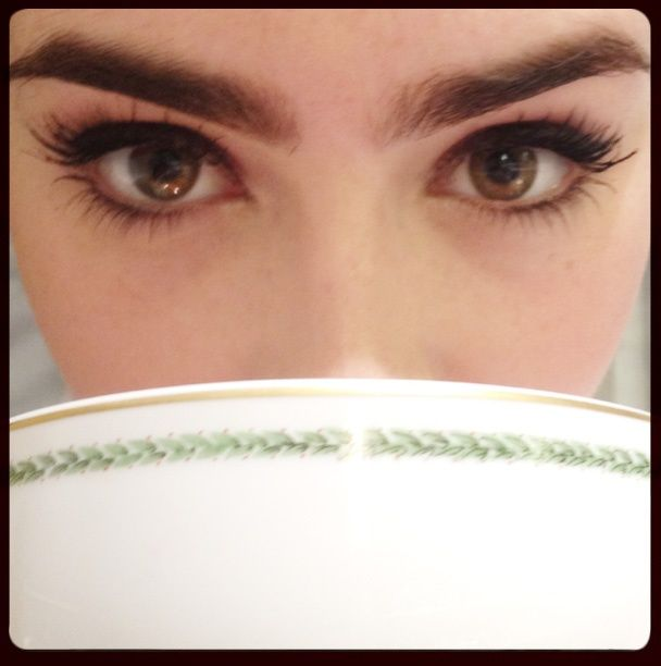lily collins eye makeup