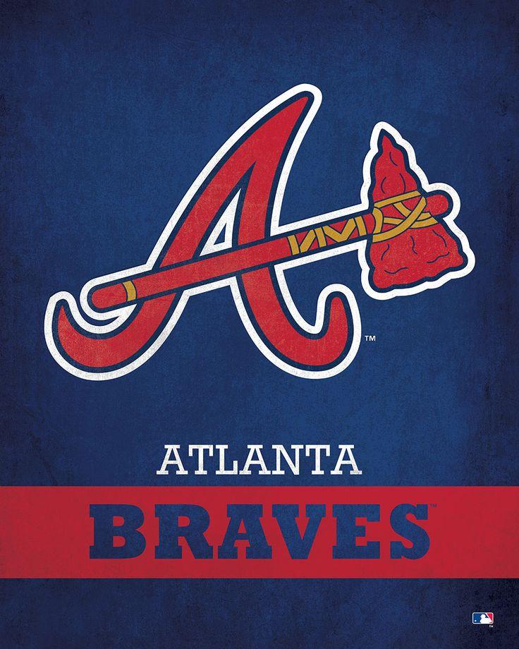 Atlanta Braves Logo $24.99 ✖️No Pin Limits✖️More Pins Like This One At FOSTERGINGER @ Pinterest✖️