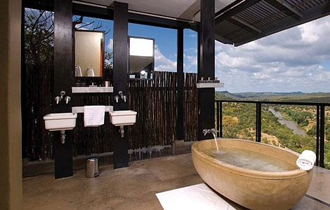 design awards bathrooms | The Outpost Safari Lodge, Kruger National Park, South Africa