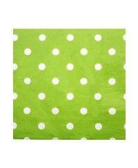 Yeşil Puanlı Kağıt Peçete (20 Adet)