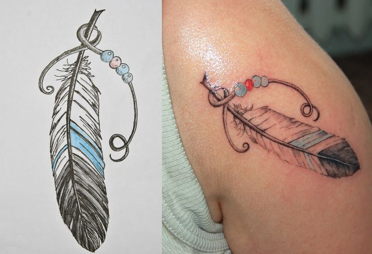 feather tattoos | Ink: Feather tattoo  closer