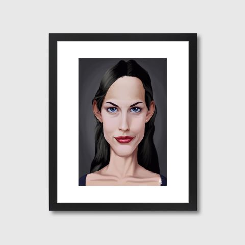 Celebrity Sunday - Liv Tyler | Monde Mosaic art | decor | wall art | inspiration | caricatures | home decor | idea | humor | gifts