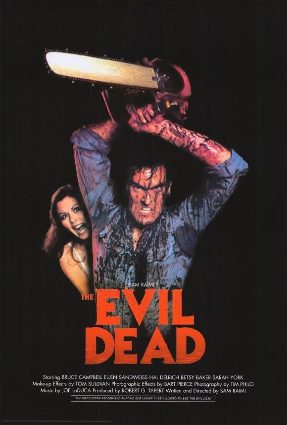 The Evil Dead     1980/'s Movie Posters Classic Cinema