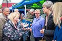 The prime minister was campaigning in Abingdon, Oxfordshire, when a woman with learning disabilities challenged her on welfare reforms.