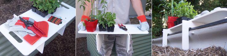 Birdies Garden Bed Accessories : Planting Bench