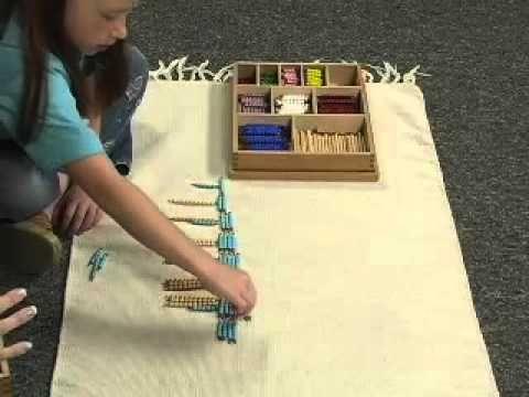Part 2: Multiplication Fact Practice with Montessori Bead Bars