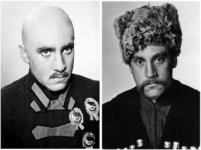 Фотопробы Высоцкого на роль Блюхера в «Маршальской звезде» (сыграл Губенко). И на роль генерала Чарноты в «Беге» (сыграл Ульянов).
