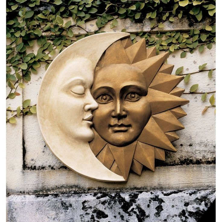Have to have it. Design Toscano Celestial Harmony Sun and Moon Wall Sculpture - $50.90 @hayneedle.com