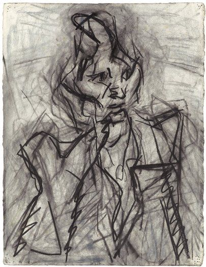 Frank Auerbach, Early Works 1954 - 1978 - 2 November - 1 December 2012 - Works | Offer Waterman