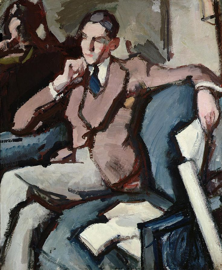 'Portrait Of Willie Peploe' by Samuel John Peploe.