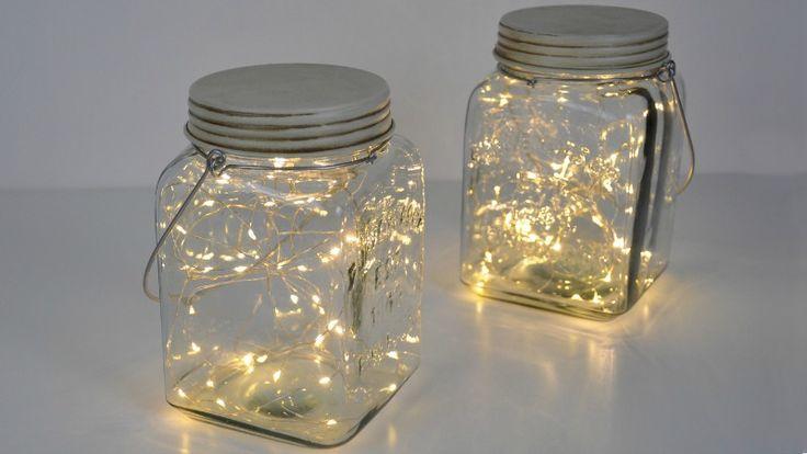 10 Super Easy DIY Christmas Mason Jars