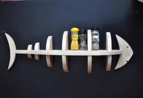 Wooden fishelf :-)