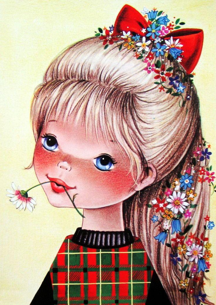 Кукла-ребенок открытка