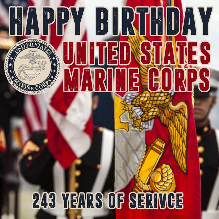 Happy Birthday to the United States Marine Corps. Thank
