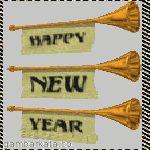DP BBM Animasi Tahun Baru 2015 Bergerak