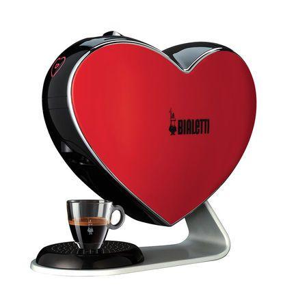 Bialetti Капсульная Эспрессо машина Cuore espresso machine, красная