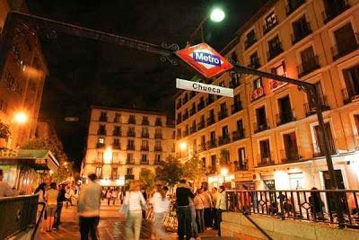 Plaza de Chueca: Madrid.