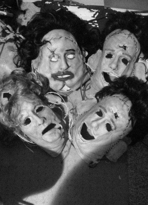 The Texas Chain Saw Massacre #Leatherface #Masks