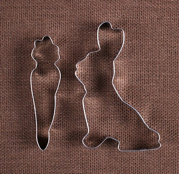 Easter Cookie Cutters: Bunny Rabbit and Carrot