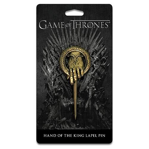It is a great addition to your Game of Thrones collection. Only $12.99 from Entertainment Earth. It also makes a great gift.