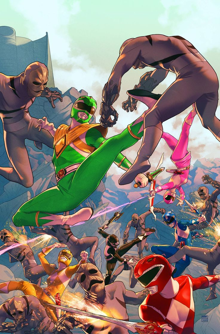 Mighty Morphin Power Rangers (2016) Issue #1