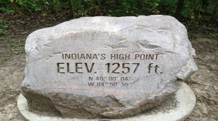 Hoosier Hill | The Highest Natural Point In Indiana