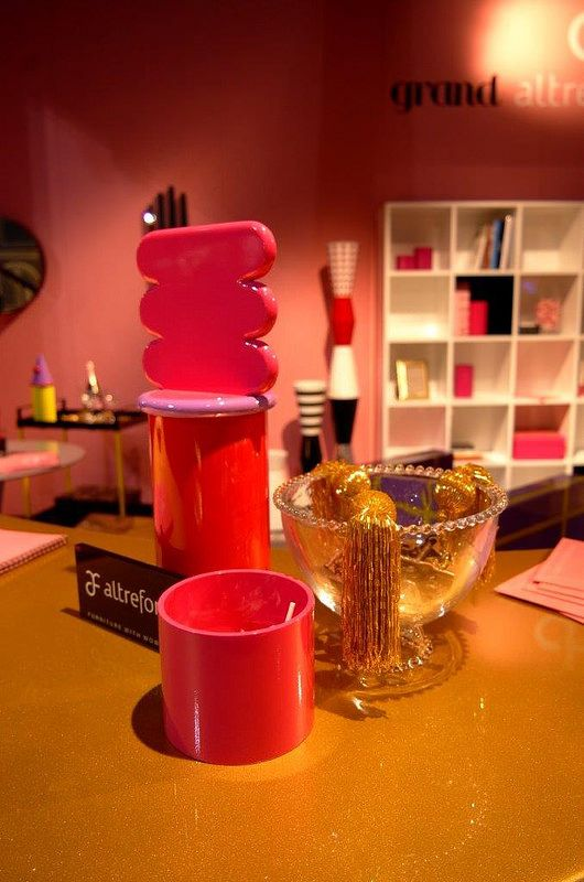 #cafè de amateurs jar, #design Elena Cutolo for #altreforme grand altreforme hotel #stand @iSaloni 2015  #grandaltreformehotel #altreformegoesfashion #myminisalvador #designweek#interior #home #decor #homedecor #furniture with #woweffect #aluminium