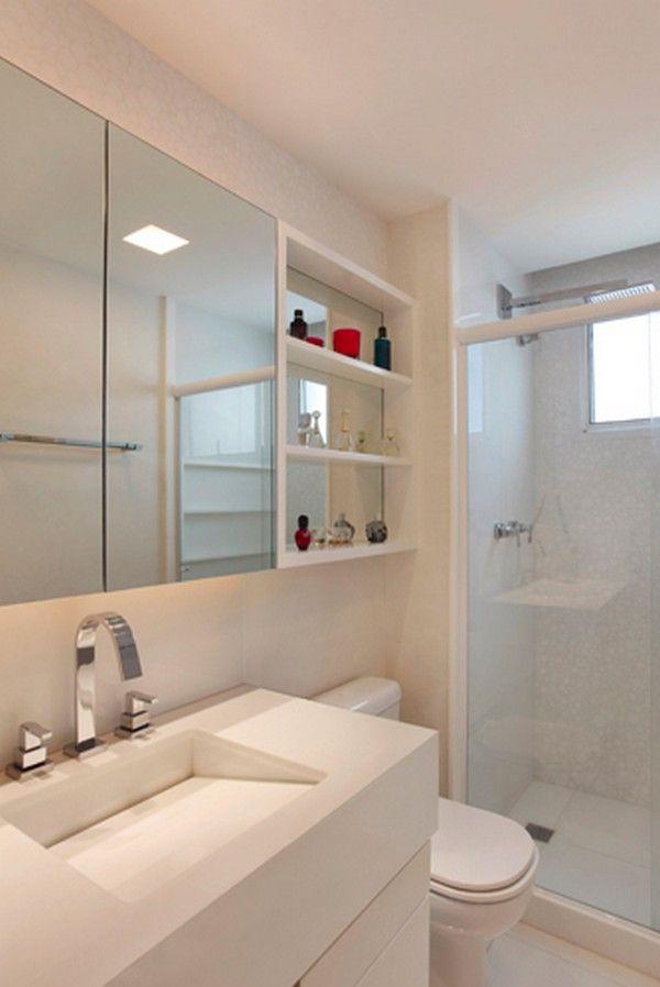 Imagem De Banheiros Pequenos Decorados : Melhores imagens sobre banheiros no