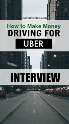 (Interview) Drive For Uber And Make Extra Income! - How To Make Money - Cost of Income