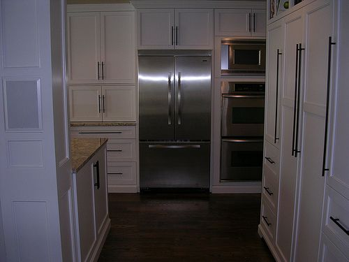 Viking Refrigerator, KitchenAid Double Wall Ovens & Microwave | Flickr - Photo Sharing!