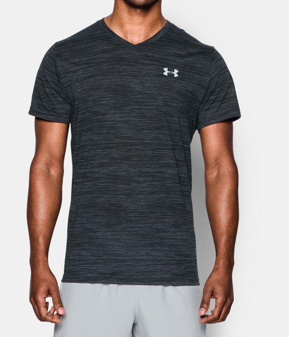 Men's Threadborne™ Streaker Run V-Neck T-Shirt. Under Armour ...