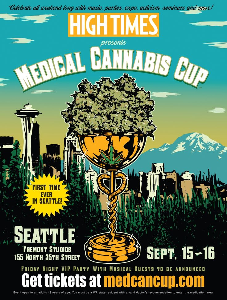 HIGH TIMES Medical Cannabis Cup Seattle