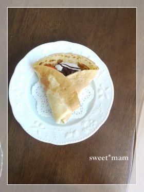 「おうちでお手軽クレープ**」satomi* | お菓子・パンのレシピや作り方【corecle*コレクル】