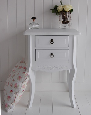 white bedroom furniture including bedside tables desks and storage our finishing touches make for a perfect bedroom daisy white bedside table