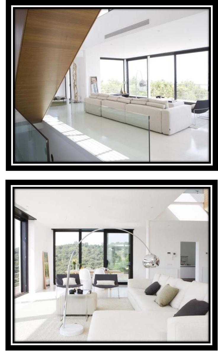 #Decoracion #Moderno #Sala de estar #Sofas #Mesas de centro #Lamparas #Accesorios #Ventanas #Vidrio #Sillas