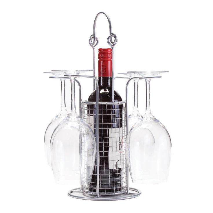 Cayman 1-Bottle Tabletop Wine Rack