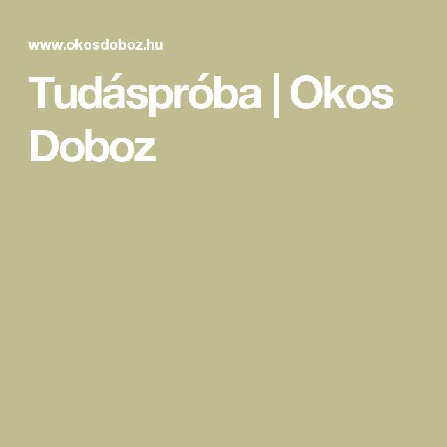 Tudáspróba   Okos Doboz