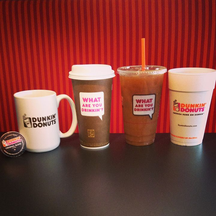 What Dunkin' Donuts beverage are you craving?