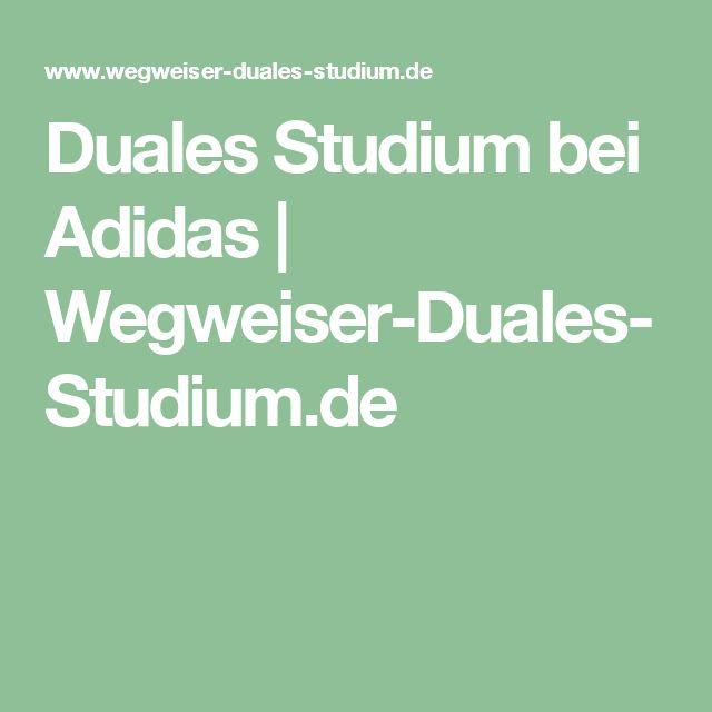 Duales Studium bei Adidas | Wegweiser-Duales-Studium.de
