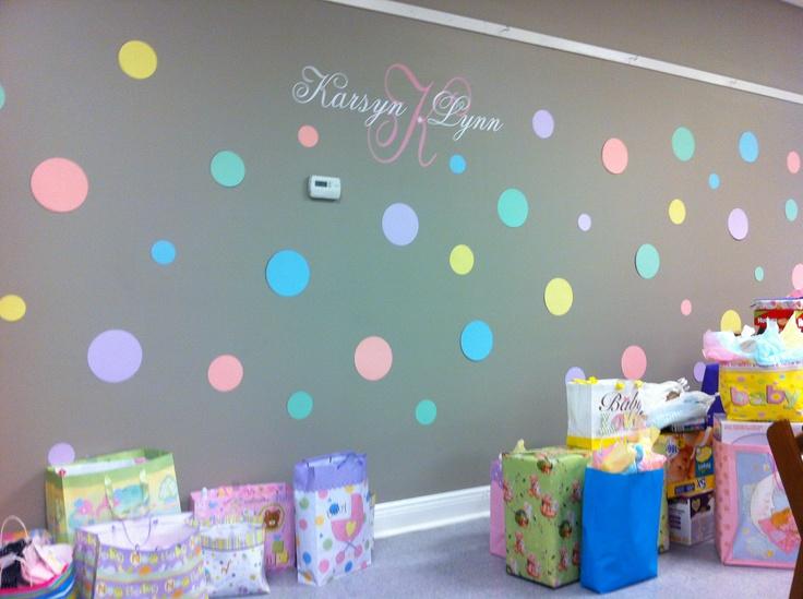 Polka Dot Baby Shower Ideas Umanovisie