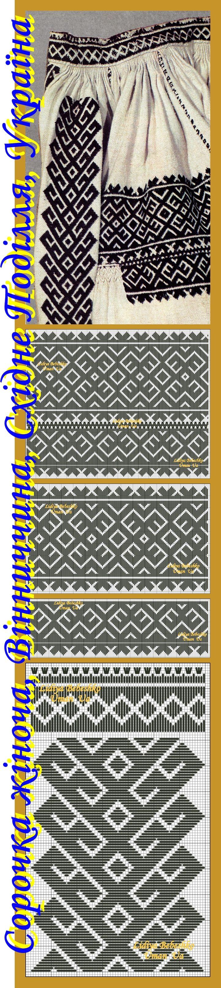Жіноча сорочка з Вінниччини, Східне Поділля, Україна, кін. ХІХ ст. Фонди НМУНДМ.