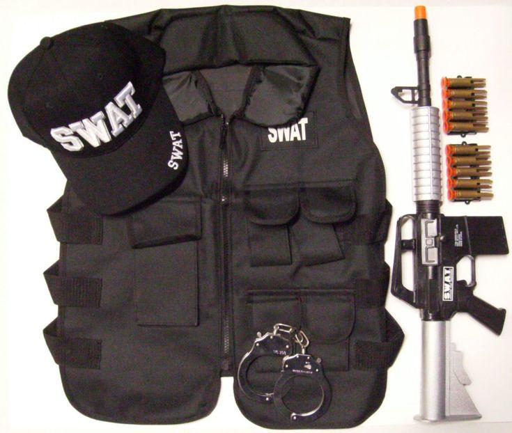 Tactical Gear |Tactical Vest | SWAT Tactical Vest | SWAT | Costume |